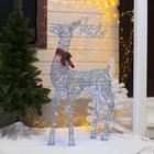 """Фигура """"Олень"""", 120 см, 120 LED, 220 В, белый"""