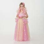 Карнавальный костюм «Принцесса», сделай сам, корсет, ленты, брошки, аксессуары - фото 922822