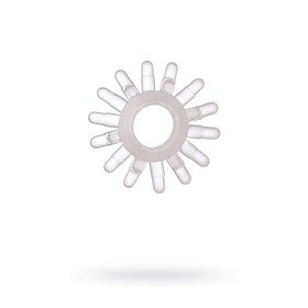 Эрекционное кольцо TOYFA, TPE, прозрачный Ош