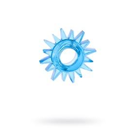 Эрекционное кольцо TOYFA, TPE, синий Ош