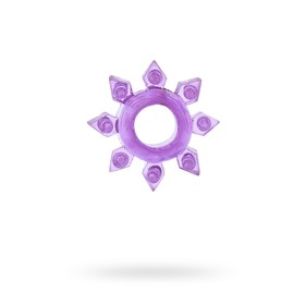Эрекционное кольцо на пенис TOYFA, TPE, фиолетовый Ош