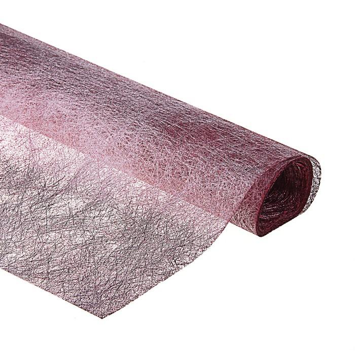 Сизаль, цвет бордовый