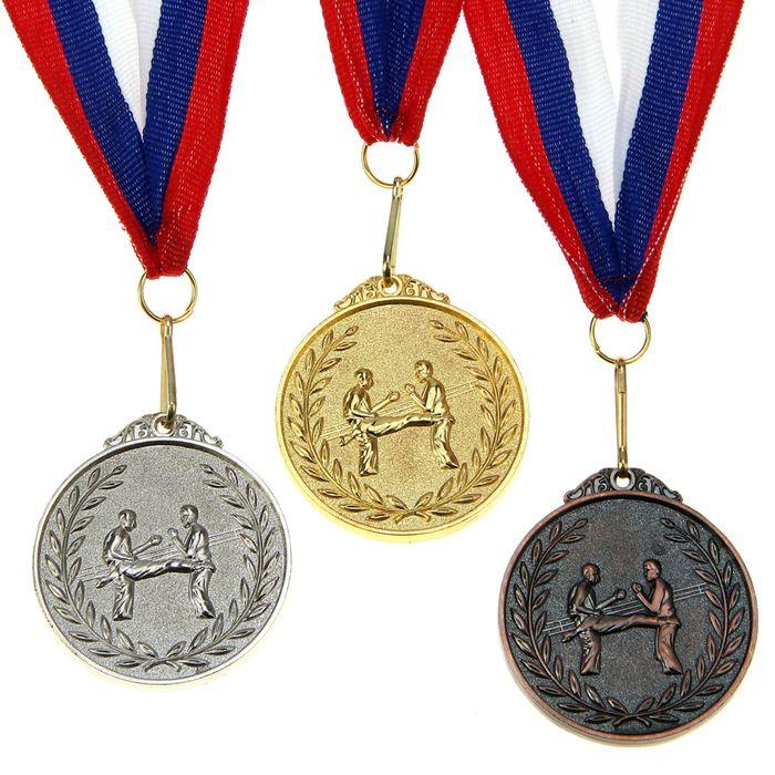 """Медаль тематическая """"Боевое искусство"""" бронза"""