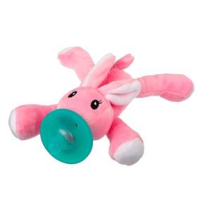 Прорезыватель-соска с игрушкой «Зайка»