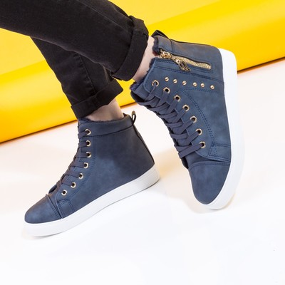 Ботинки женские А-16 MINAKU синий р. 36