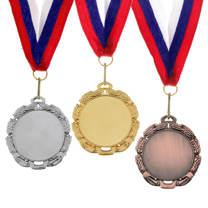 Медаль под нанесение 009 серебро