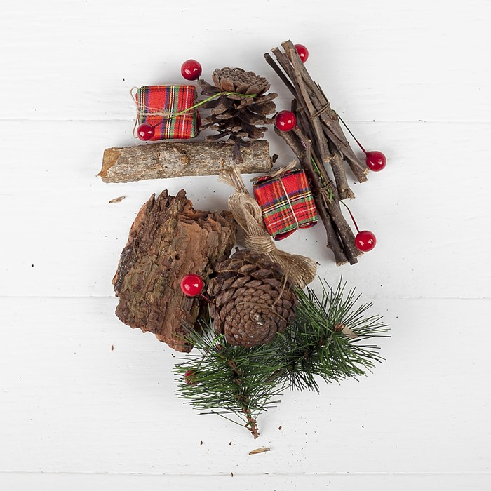 """Набор новогоднего декора """"Волшебный лес"""""""