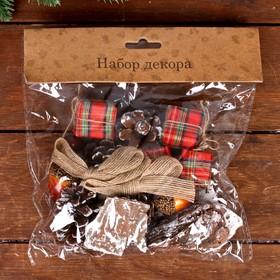 Набор новогоднего декора «Лесные дары»