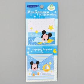 Scrapbooking Mini Envelopes, Mickey Mouse