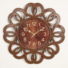 "Wall clock, series: Interior, ""Charlotte"", 40x40 cm"