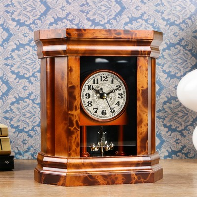 """Часы каминные """"Классические"""", 18.5х16х7 см"""
