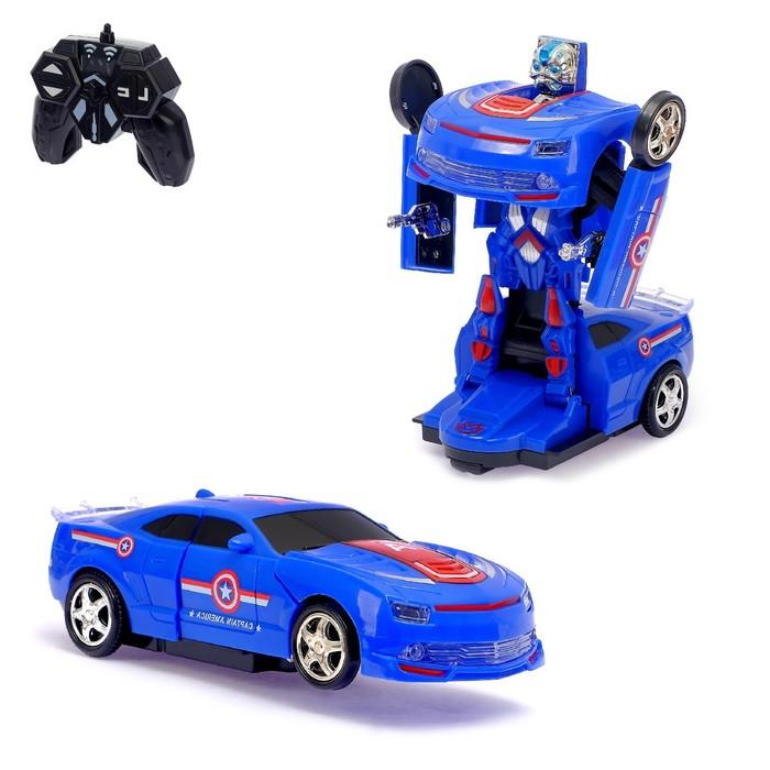 Робот-трансформер радиоуправляемый «Защитник», световые и звуковые эффекты