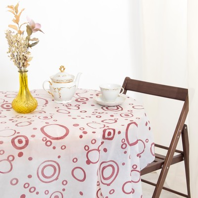 Tablecloth to give the hostess of Coffee 140×180 cm