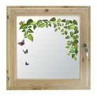 """Окно 50х50 см, """"Весна"""", двойной стеклопакет, хвоя, """"Добропаровъ"""""""