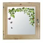 """Окно 60х60 см, """"Весна"""", двойной стеклопакет, уплотнитель, хвоя, """"Добропаровъ"""""""