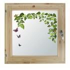 """Окно 100х100 см, """"Весна"""", двойной стеклопакет, уплотнитель, хвоя, """"Добропаровъ"""""""