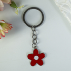 "Metal keychain ""flower"" MIX 2,5x2 cm"