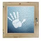 """Окно 70х70 см, """"Рука"""", двойной стеклопакет, уплотнитель, хвоя, """"Добропаровъ"""""""