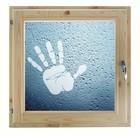 """Окно 100х100 см, """"Рука"""", двойной стеклопакет, уплотнитель, хвоя, """"Добропаровъ"""""""