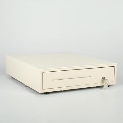 Денежный ящик Shtrih13K, 3-х позиционный замок, цвет белый