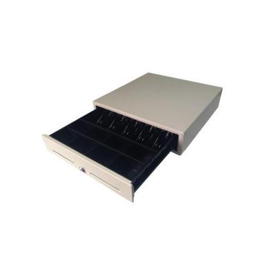 Денежный ящик Форт 5К, 3-х позиционный замок, цвет белый