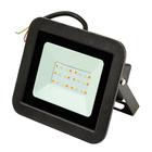 Прожектор светодиодный Volpe, 30Вт, IP65, мультиколор, корпус черный