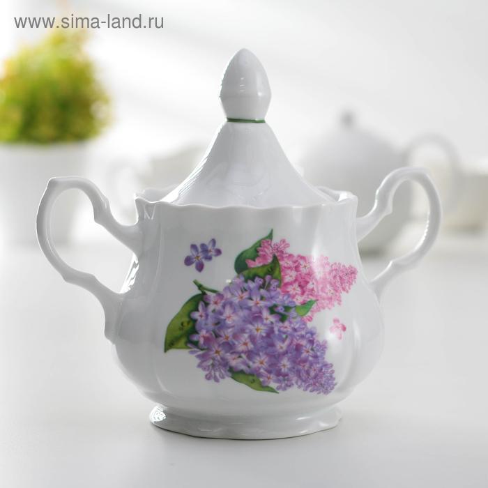 "Сахарница 550 мл ""Сирень"""