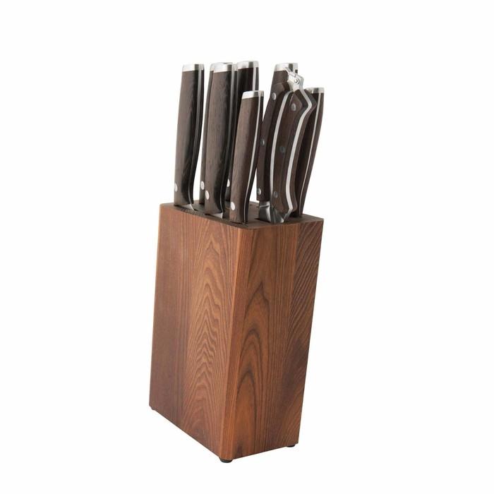 Набор ножей Dark Wood, 9 предметов