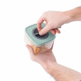 Набор пищевых контейнеров с герметизирующей крышкой Leo,  5 предметов