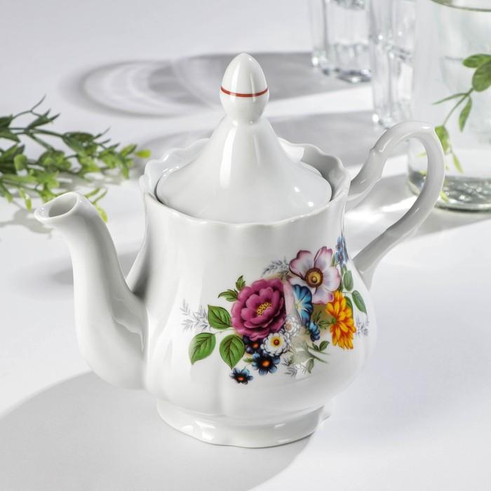 Чайник «Букет цветов», 800 мл