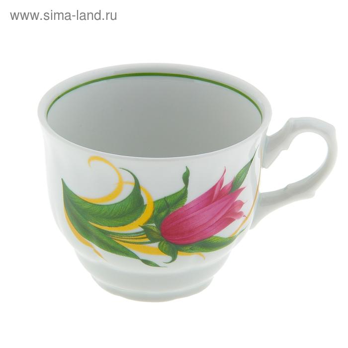 "Чашка чайная 250 мл ""Тюльпан. Колокольчики"""