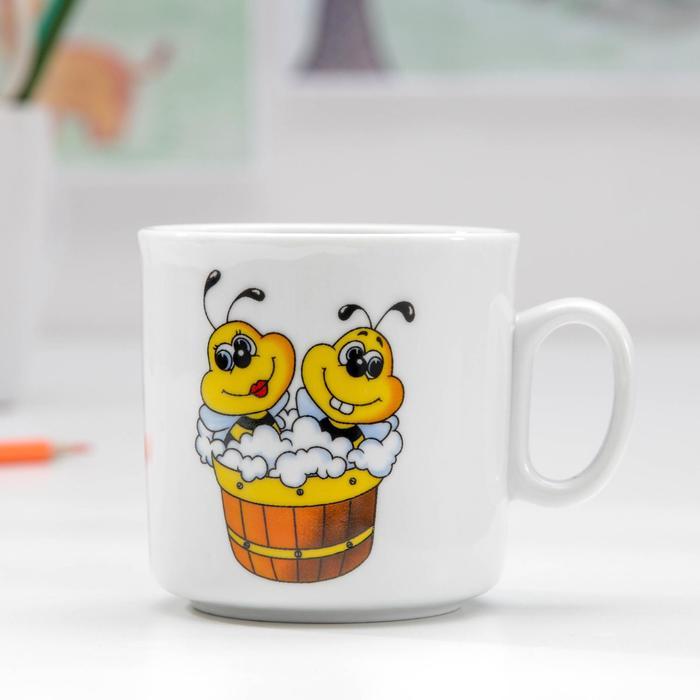 """Кружка 200 мл, """"Пчелы"""""""