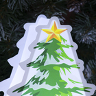 """Картинка световая на подставке """"Ёлка"""", SMD 2835, АА*3 (не в компл.), 8 LED - фото 1383914"""