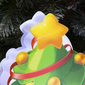 """Картинка световая на подставке """"Ёлочка"""", SMD 2835, АА*3 (не в компл.), 8 LED - фото 1383919"""