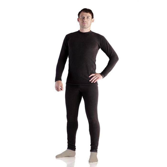 """Костюм мужской термо """"Норд"""", цвет чёрный, размер 46, рост 176"""