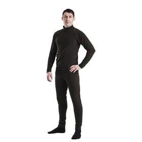 Комплект мужской термо «Арктик» (джемпер, брюки), цвет чёрный, размер 46, рост 176