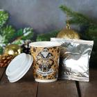 """Кофе молотый """"С Новым годом"""", 30 г, мужской, в бумажном стакане"""