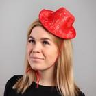 "Carnival hat ""Snowflake"" string"