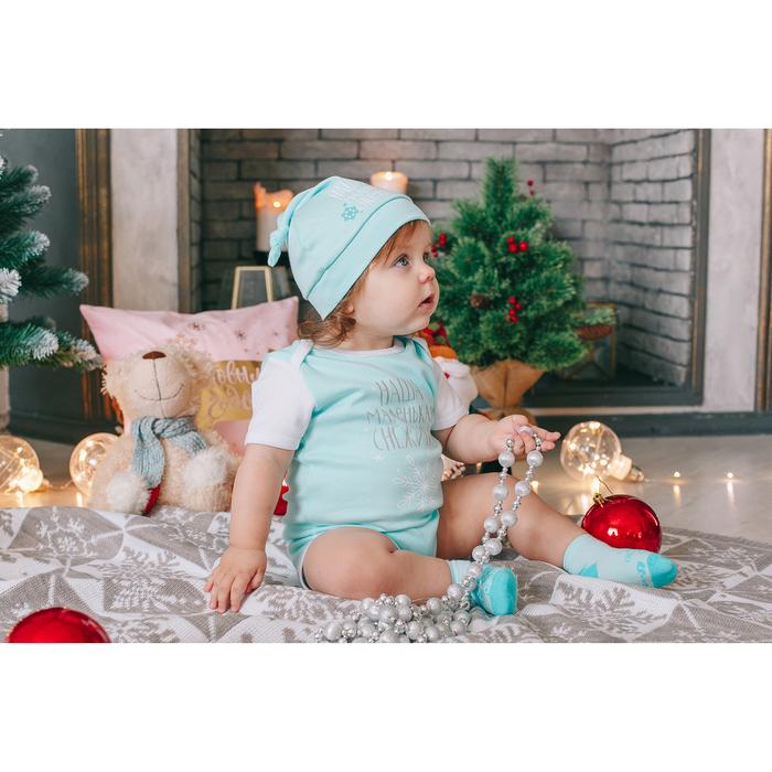 """Боди детское """"Маленькая снегурочка"""", рост 86-92 см 1,5-2 г(28 р-р), 100% хл, интерлок"""