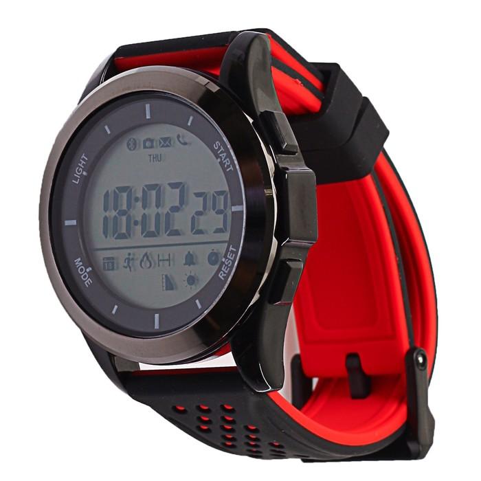 Часы умные NO.1 F3 черно-красные