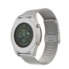 Часы умные NO.1 S9 серебро, ремешок сталь