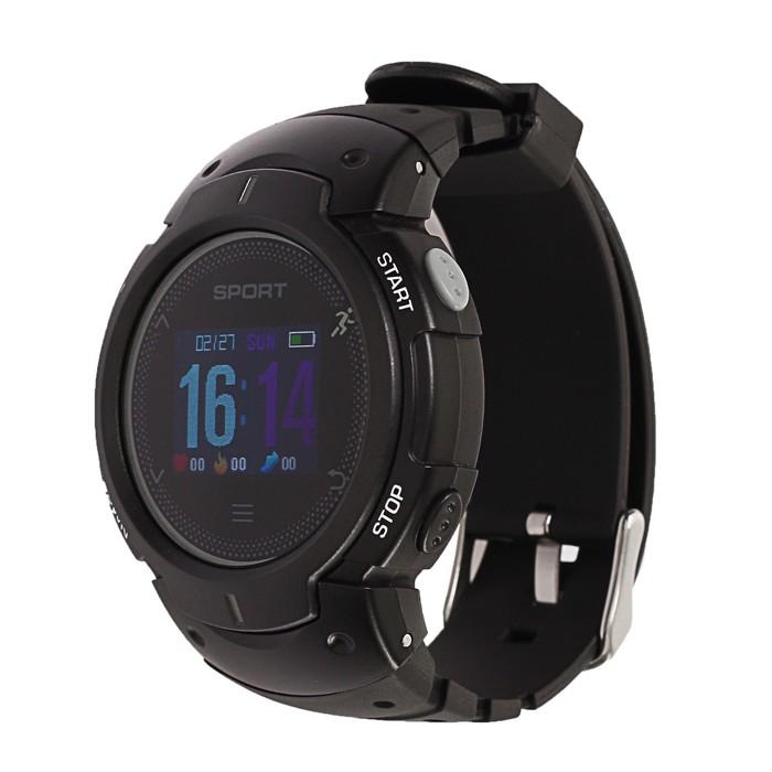 Часы умные NO.1 F13 черные