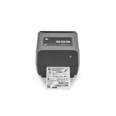 "Термопринтер Zebra ZD420 TT (4"", 203 dpi, USB, BTLE), серый"
