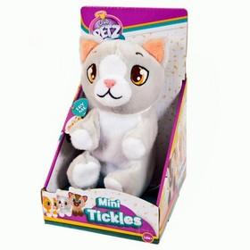 Игрушка интерактивная «Котёнок», цвет серый
