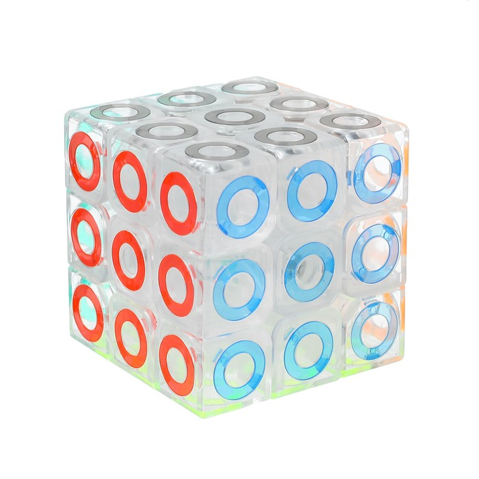 Игрушка механическая «Круги», 5,7х5,7х5,7 - фото 105586920