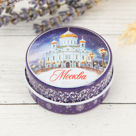 Свеча в баночке «Москва. Храм Христа Спасителя» Ош