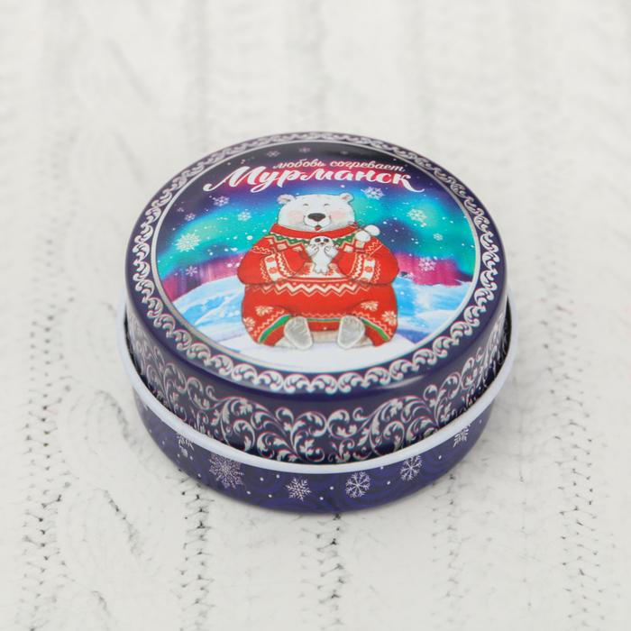Свеча в баночке «Мурманск»,  4,4 см