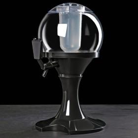 Башня пивная «Сфера», 3 л, цвет чёрный