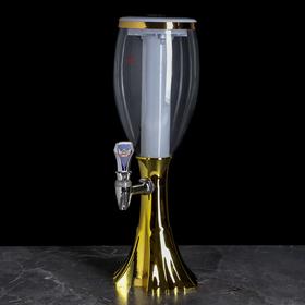 {{photo.Alt || photo.Description || 'Башня пивная Gold, 2 л, колба с подсветкой, цвет золотой'}}