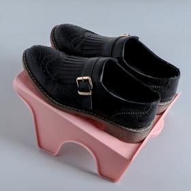 Подставка для хранения обуви, 26×21×12 см, цвет МИКС Ош